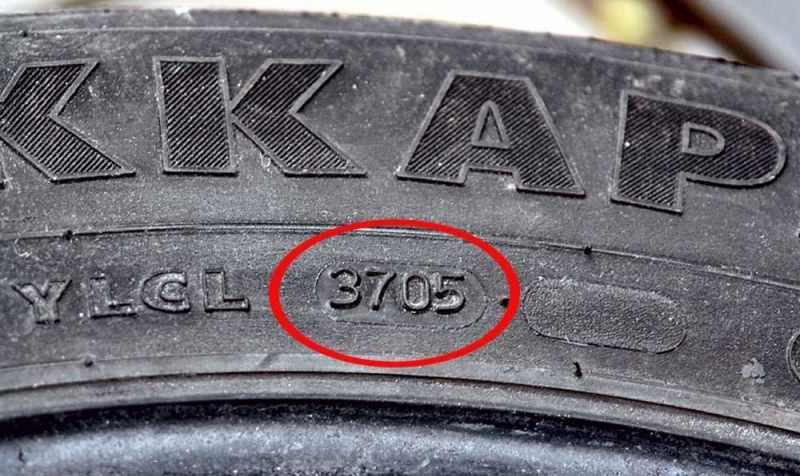 код срока выпуска колеса