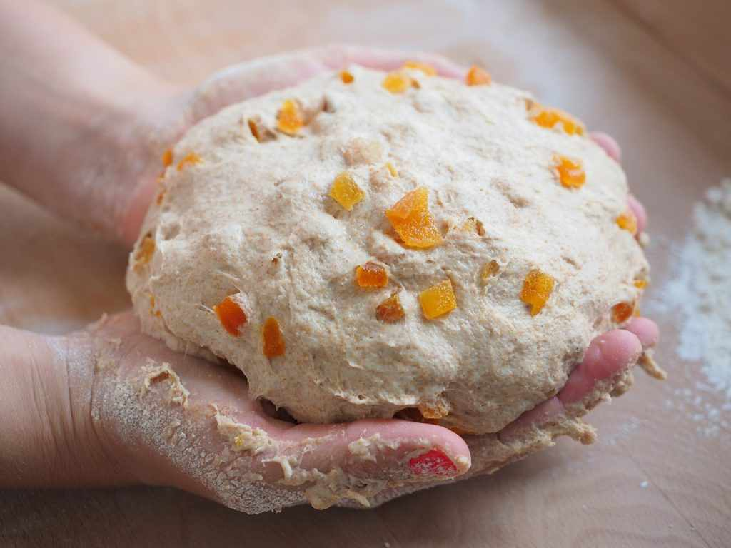 Заморозить тесто для куличей