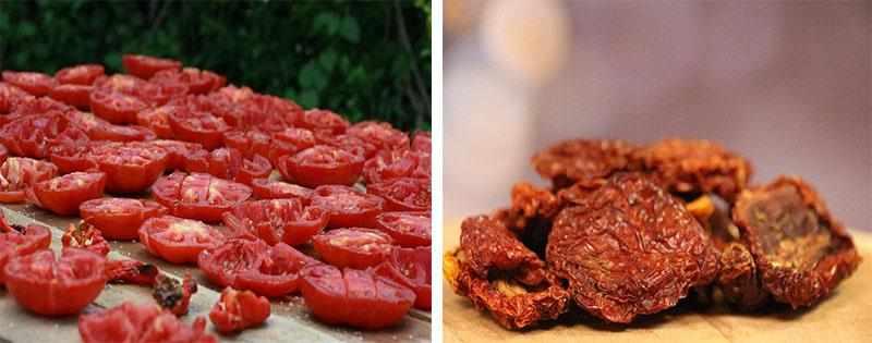 Заготовка сушеных помидоров