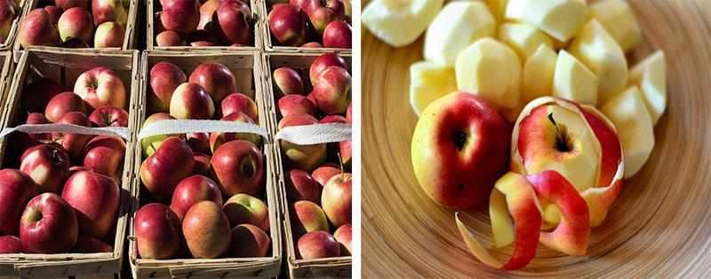 Заготовка и заморозка яблок