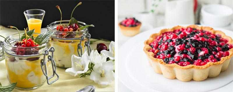 Десерты из смородины