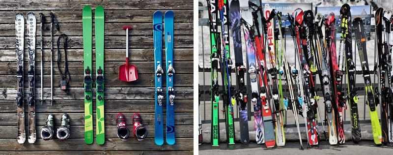 Спортивные лыжи