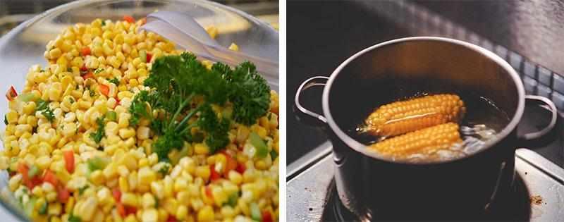 Приготовление блюд из кукурузы