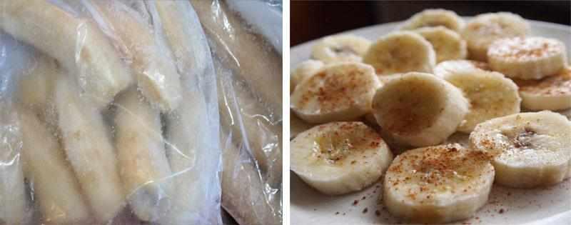 Замороженные бананы хранение