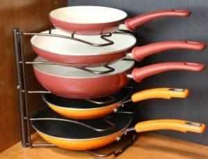 Сковородки на подставке