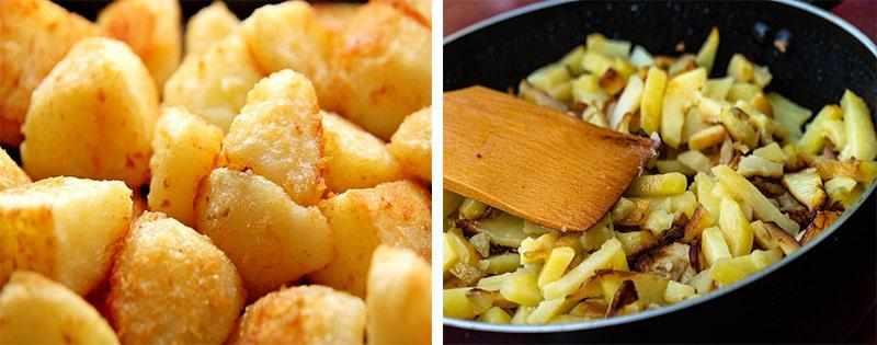 Жареная картошка заготовка