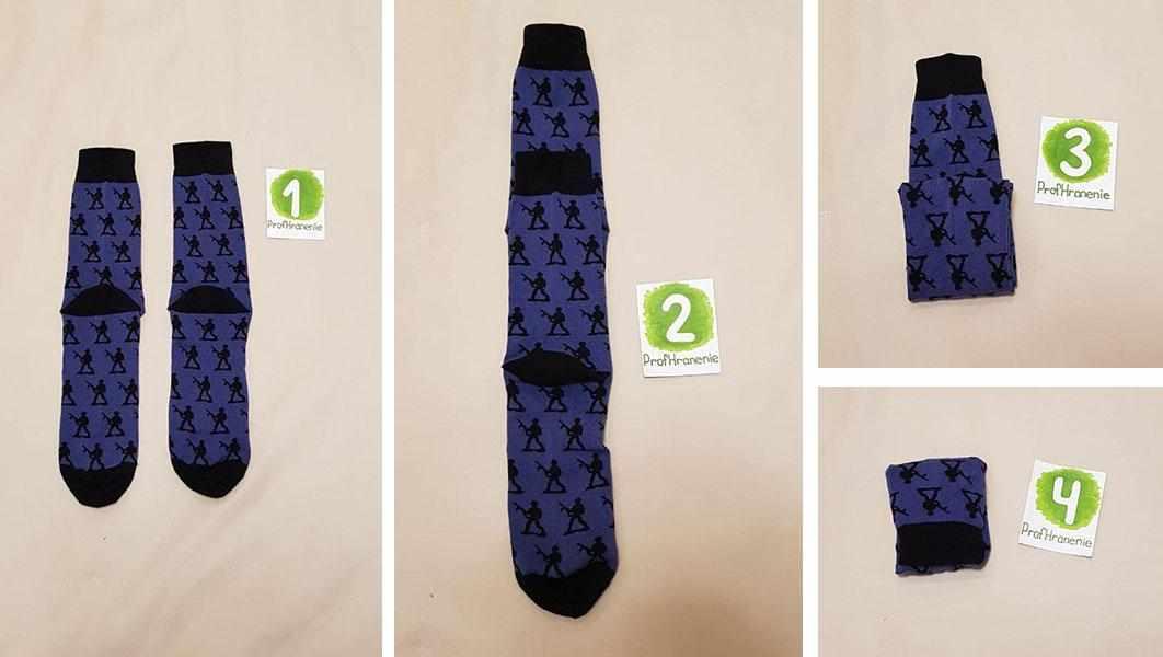 Метод складывания носков по Конмари