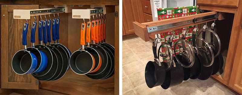 Шкаф для сковородок