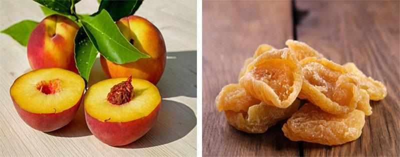 Сушка персиков дольками