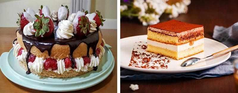 Хранение бисквита для торта