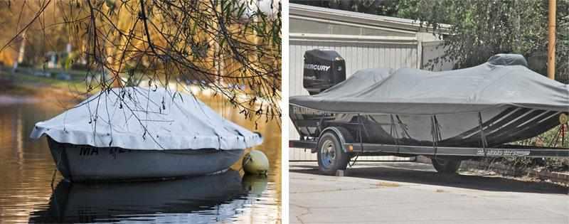 Хранение моторной лодки