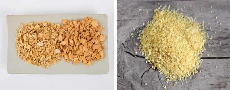 Приготовление чесночного порошка