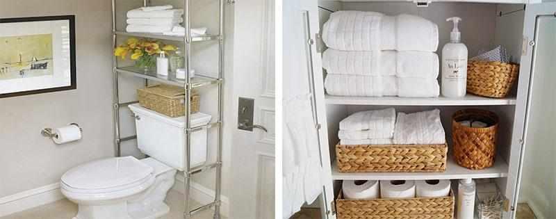 Системы хранения в ванную комнату