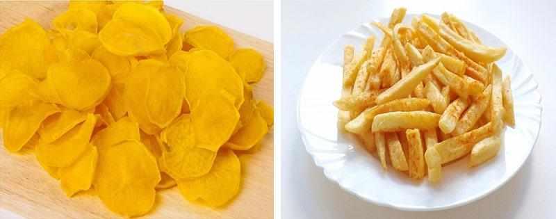 Сушеный картофель заготовка