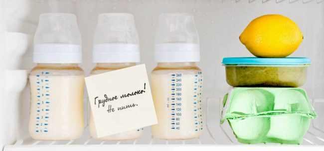 Как правильно хранить грудное молоко