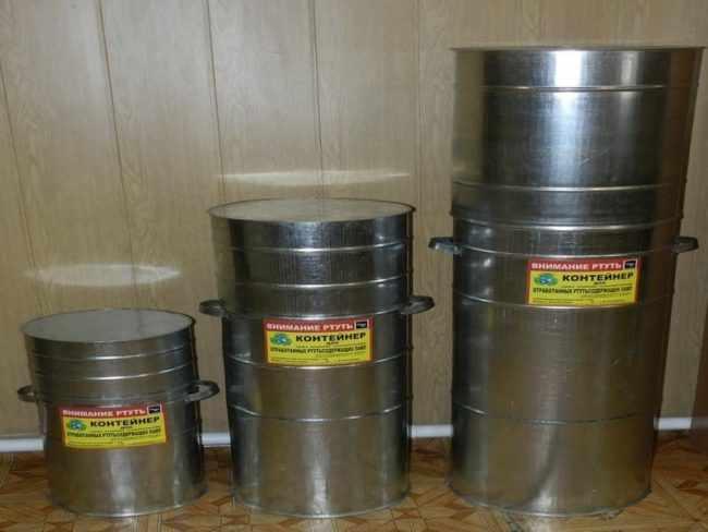 Правила хранения и утилизации люминесцентных ламп
