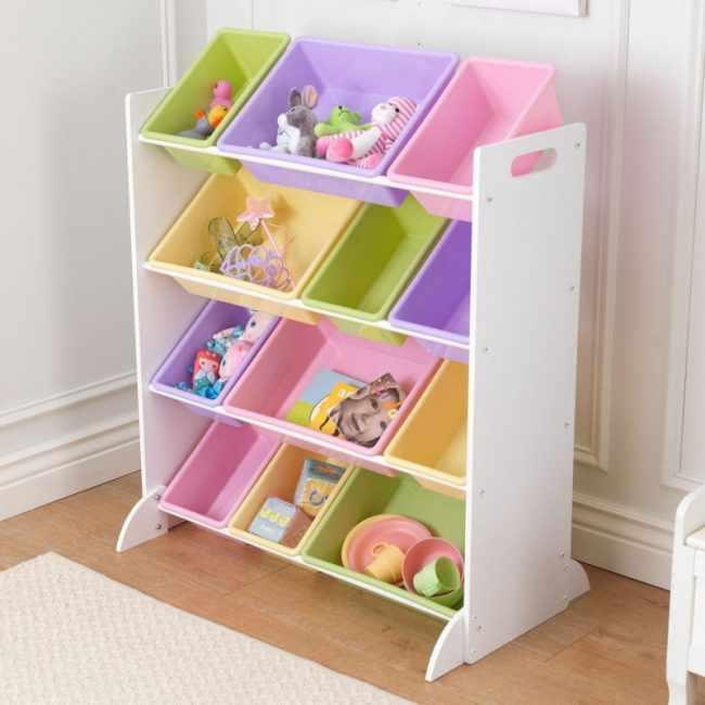 Способы хранения игрушек