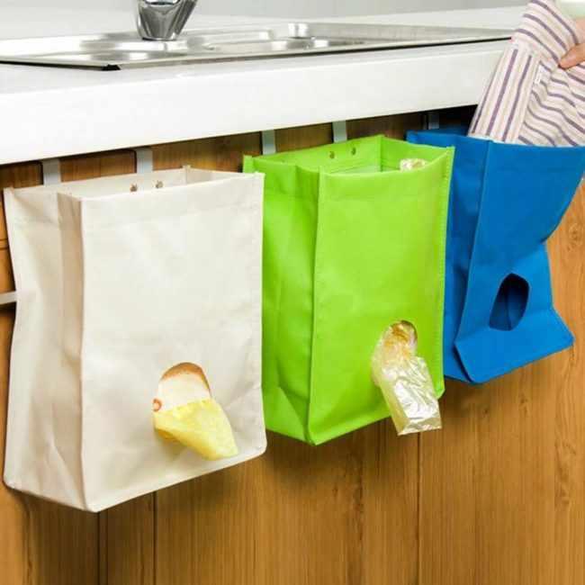 Хранение полиэтиленовых пакетов: самые практичные способы