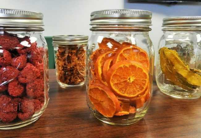 Правила хранения разных видов сухофруктов