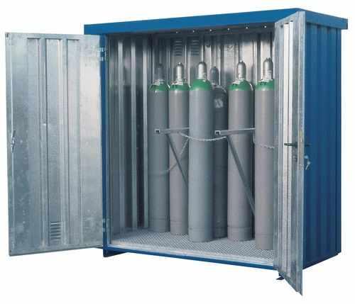 Правила хранение и перемещения газовых и кислородных баллонов