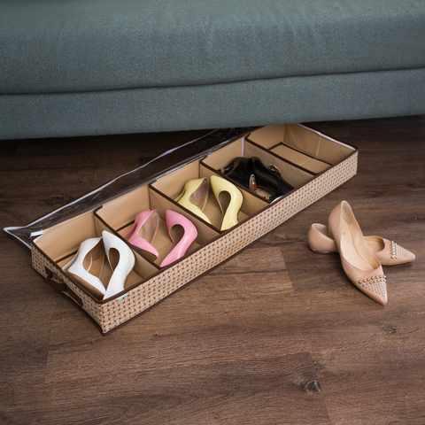 Хранение обуви: простые и эффективные способы