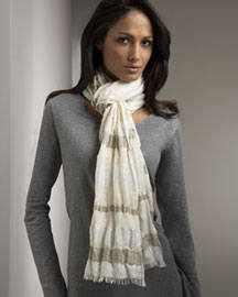 Как правильно выбрать шарф ?