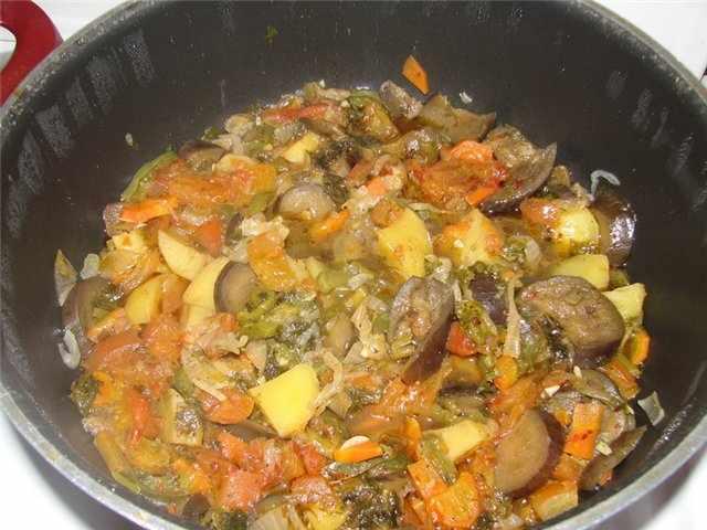 Как правильно готовить Аджапсандал?