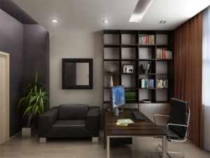 Как правильно сделать рабочий кабинет в маленькой квартире?