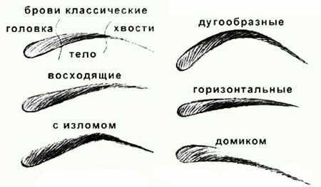 Как правильно выщипать брови ?