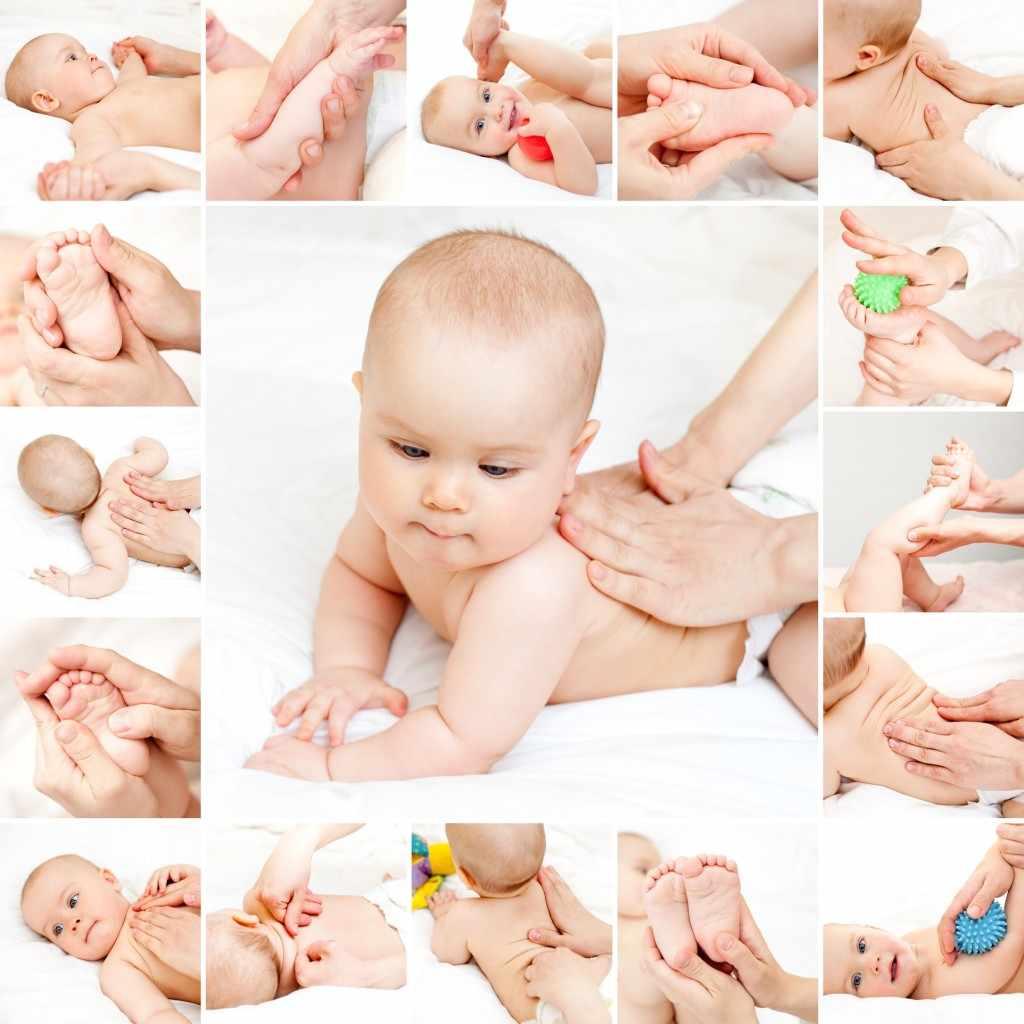 Как правильно делать массаж новорождённому