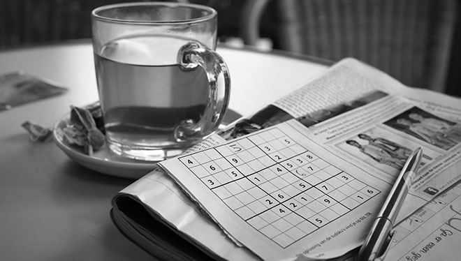 чай и судоку