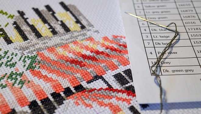 вышивание крестиком по схеме