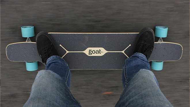 скейт от первого лица