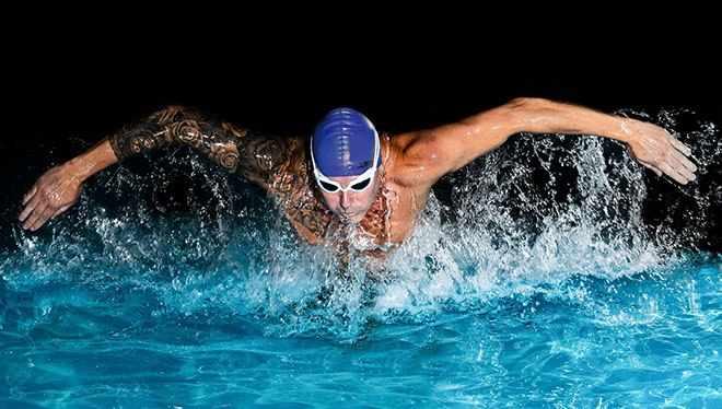 баттерфляй пловец