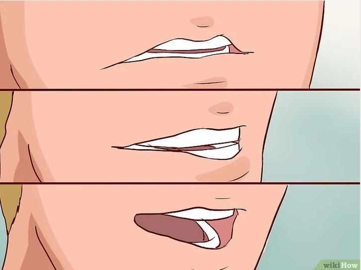 положение губ при чревовещании