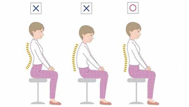 поза для медитации на стуле