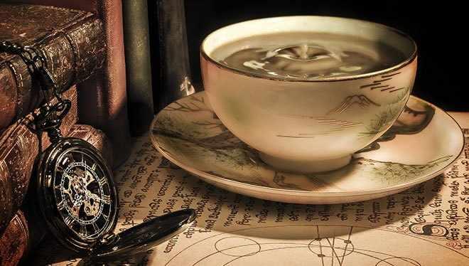 кофе магия гадания