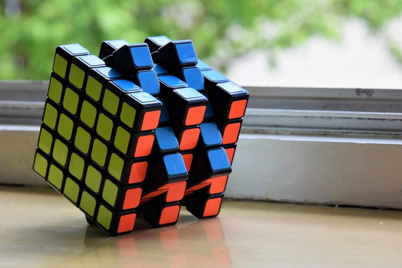 Вращение кубика