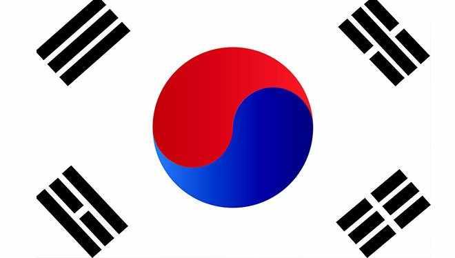 корейский флаг