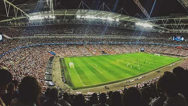 футбольный стадион