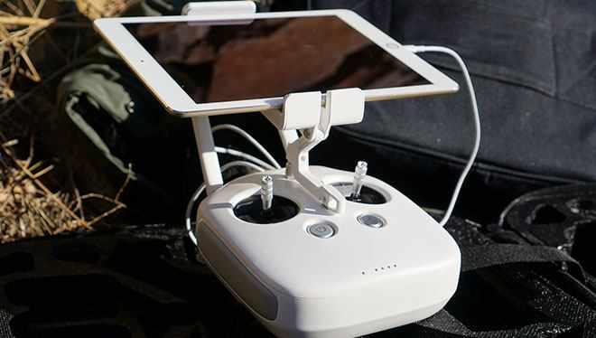 управление дроном с телефона